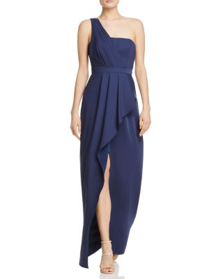 formal dresses evening gowns id bloomingdales wedding dresses BCBGMAXAZRIA Kristine One Shoulder Gown Bloomingdale s 2