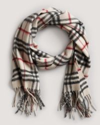 Burberry Giant Check Scarf | Bloomingdale's