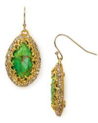 Alexis Bittar Gold Mojave Drop Earrings | Bloomingdale's