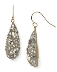Alexis Bittar Lucite Crystal Dust Dewdrop Earrings ...