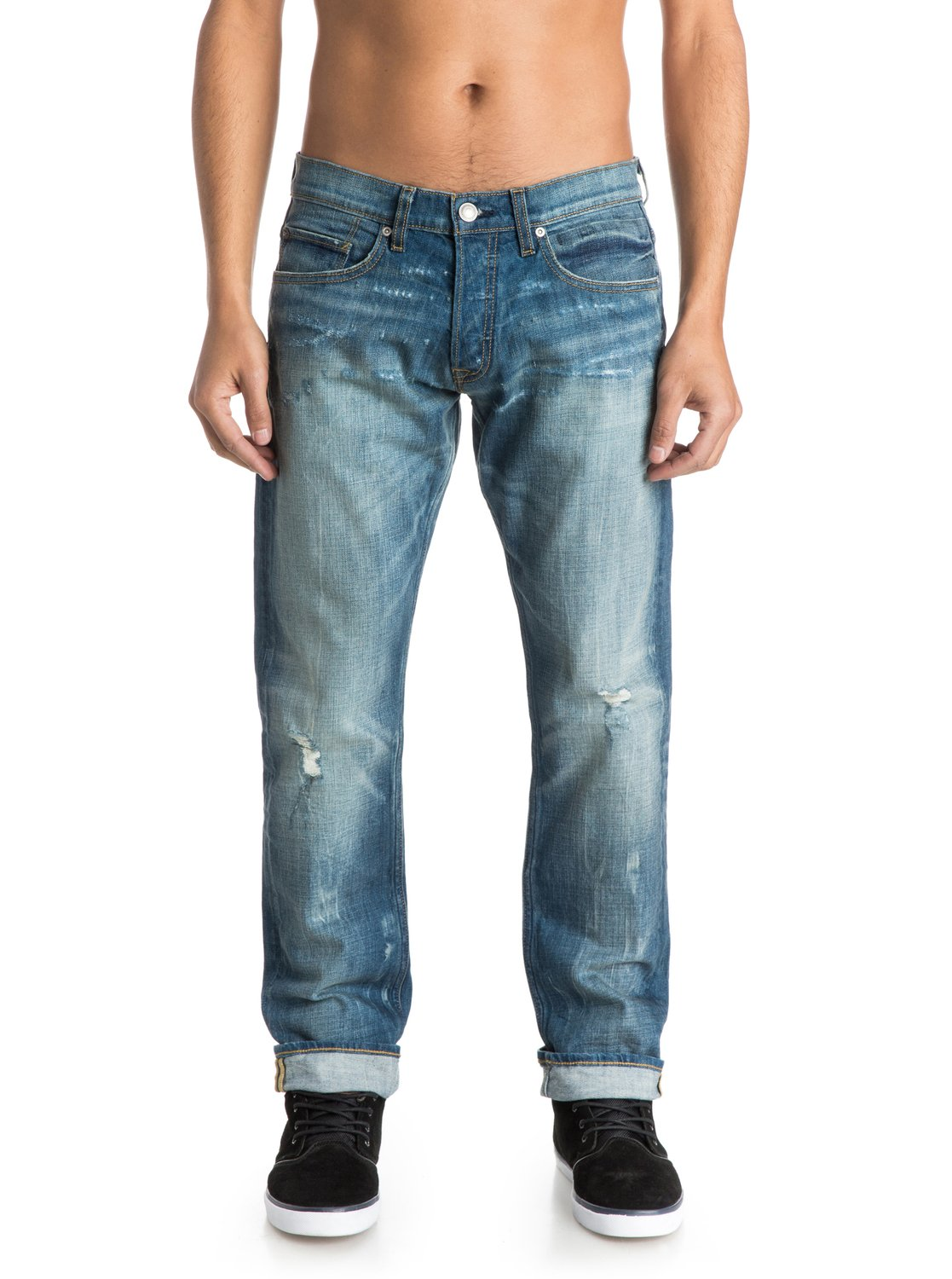 Jeans Coupe Droite Revolver Salty 32