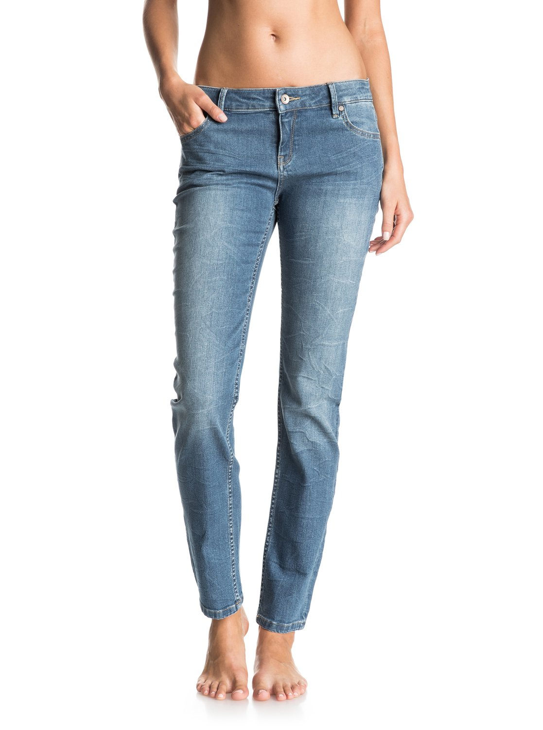 Jeans Coupe Droite You Breathing Jean Coupe Droite Erjdp03113 Roxy