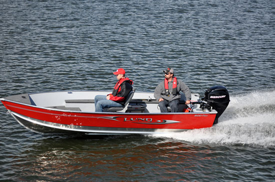 Lund 1600 Fury Updated Tradition - boats