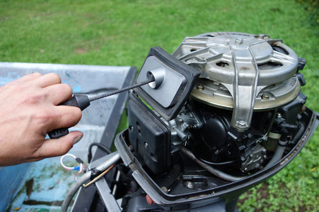 Make Your Old Outboard Engine New Again - boats
