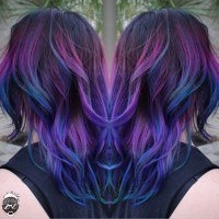 Colorful Color Melt - Hair Color - Modern Salon
