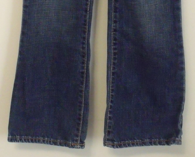 Girls Gap Kids Denim Blue Boot Cut Jeans Size 8 Jeans