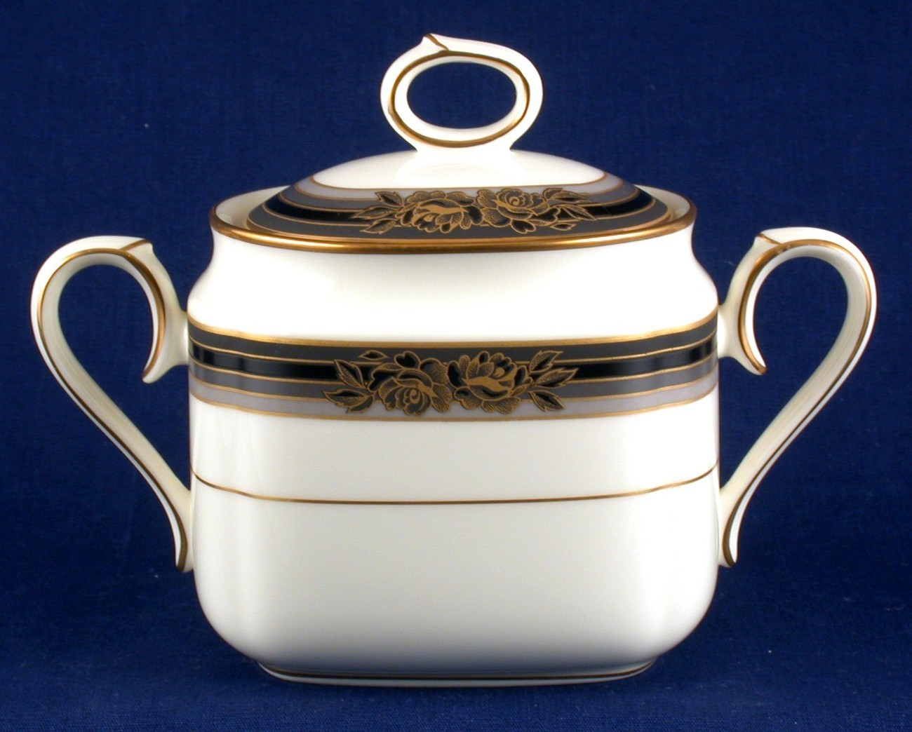 Noritake Spell Binder Sugar Bowl Fine China New 9733
