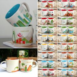 Lovable Coffee Mug You Are Here City Starbucks Collector Series Mugscollection Mug Starbucks Coffee Mug Collection Coffee Drinker Coffee Mug Collectors Coffee Mug Collection Shelf
