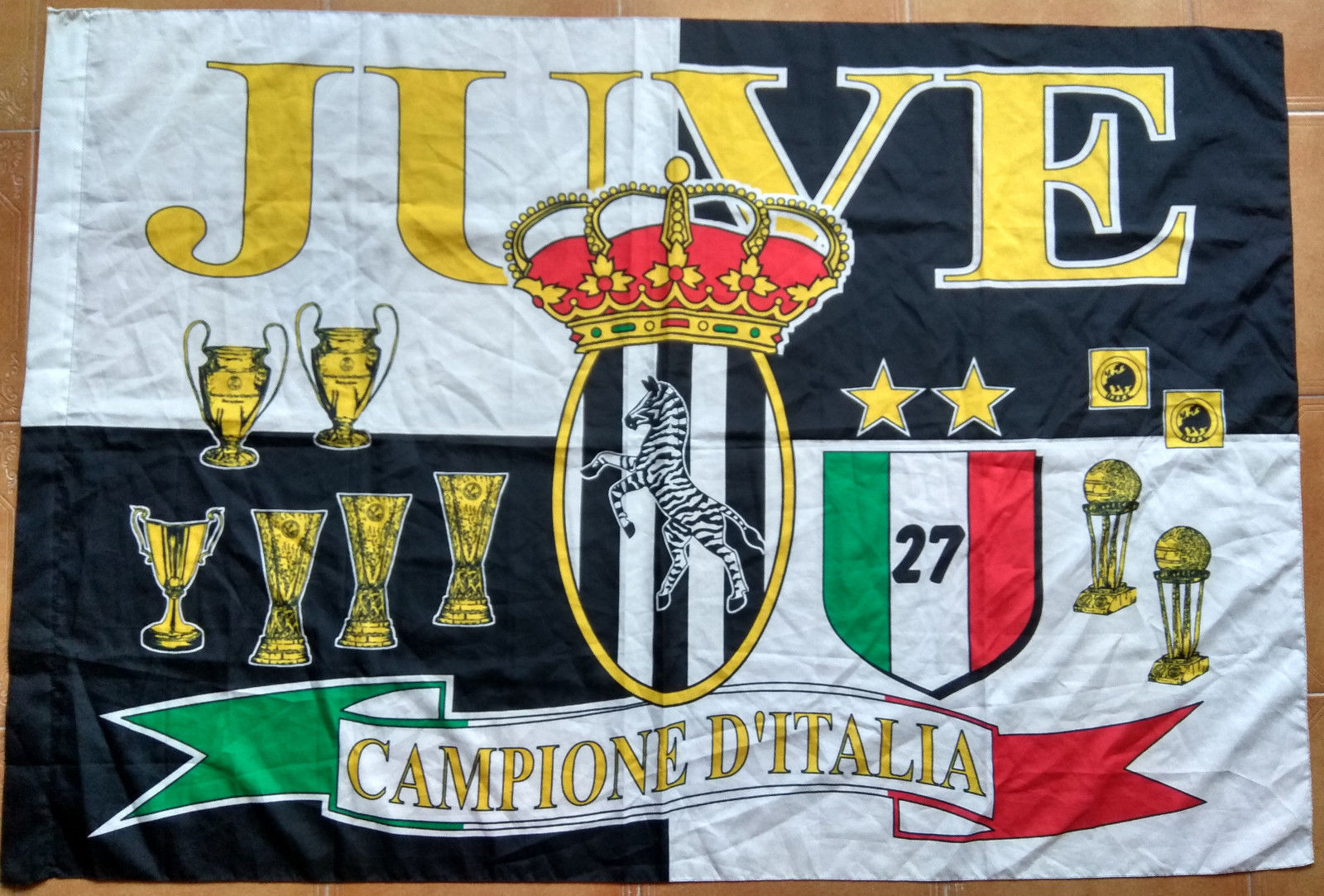 Quilt Oberhausen Juventus Flag Vintage Juve 27 Campione D And 50 Similar Items