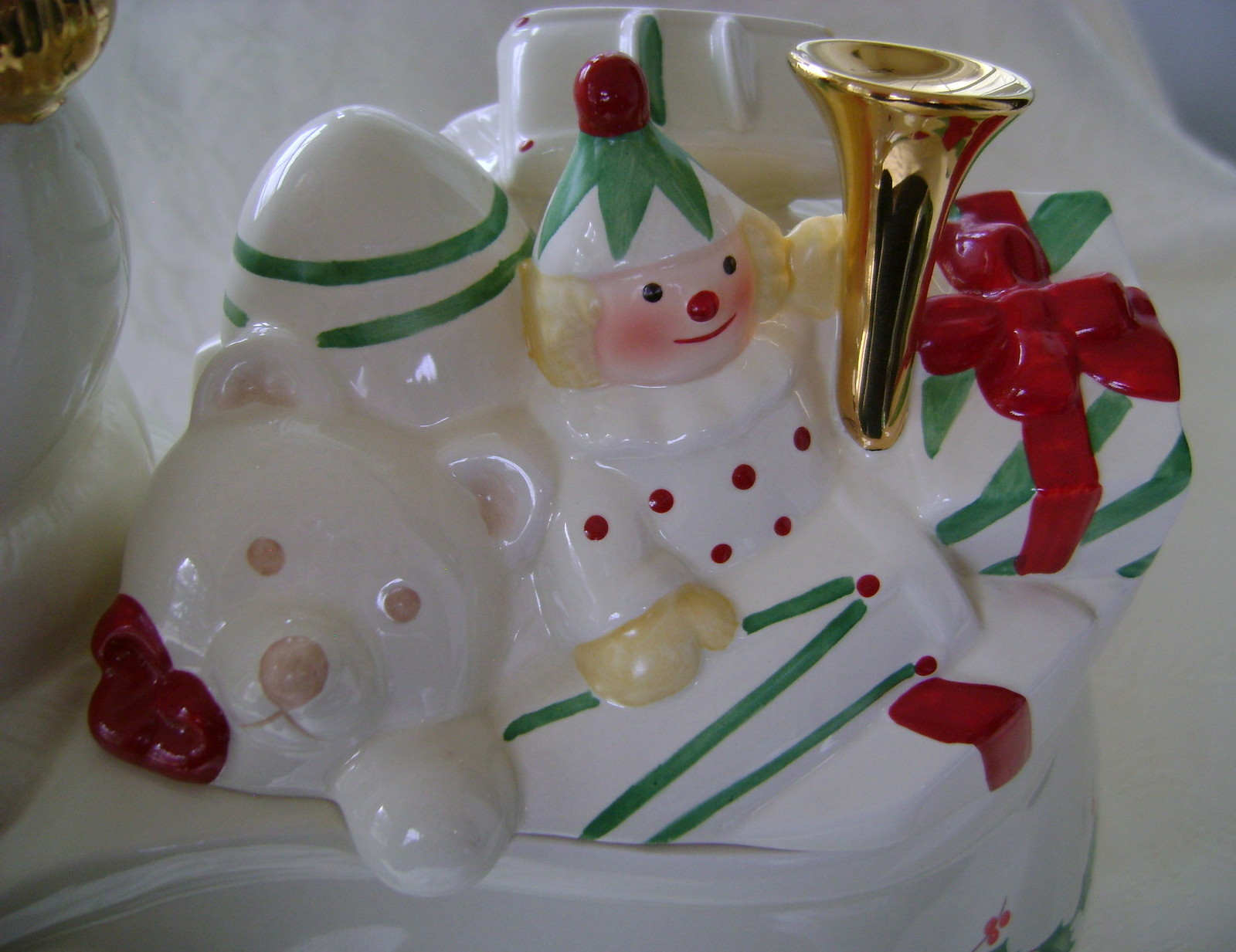 Modern Cookie Jar Lenox Holiday Santa Cookie Jar Nib Modern 1970 Now