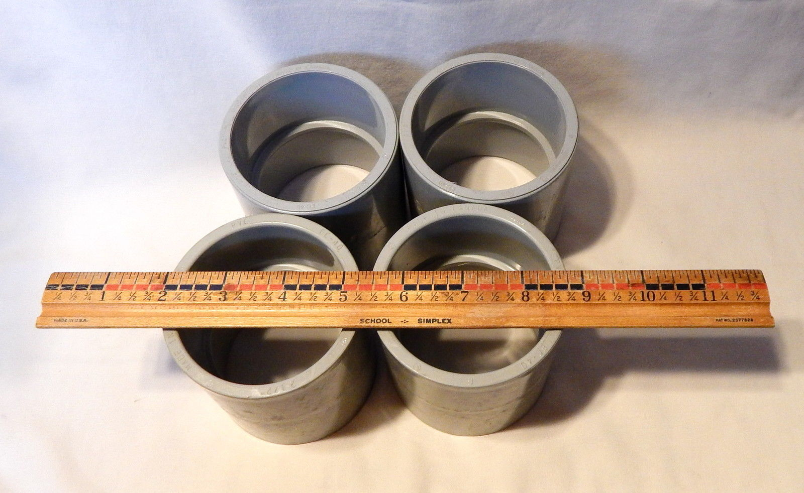 Pvc Joints Scepter 2 1 2 Quot Coupling Slip Joint Pvc Fittings Electrical