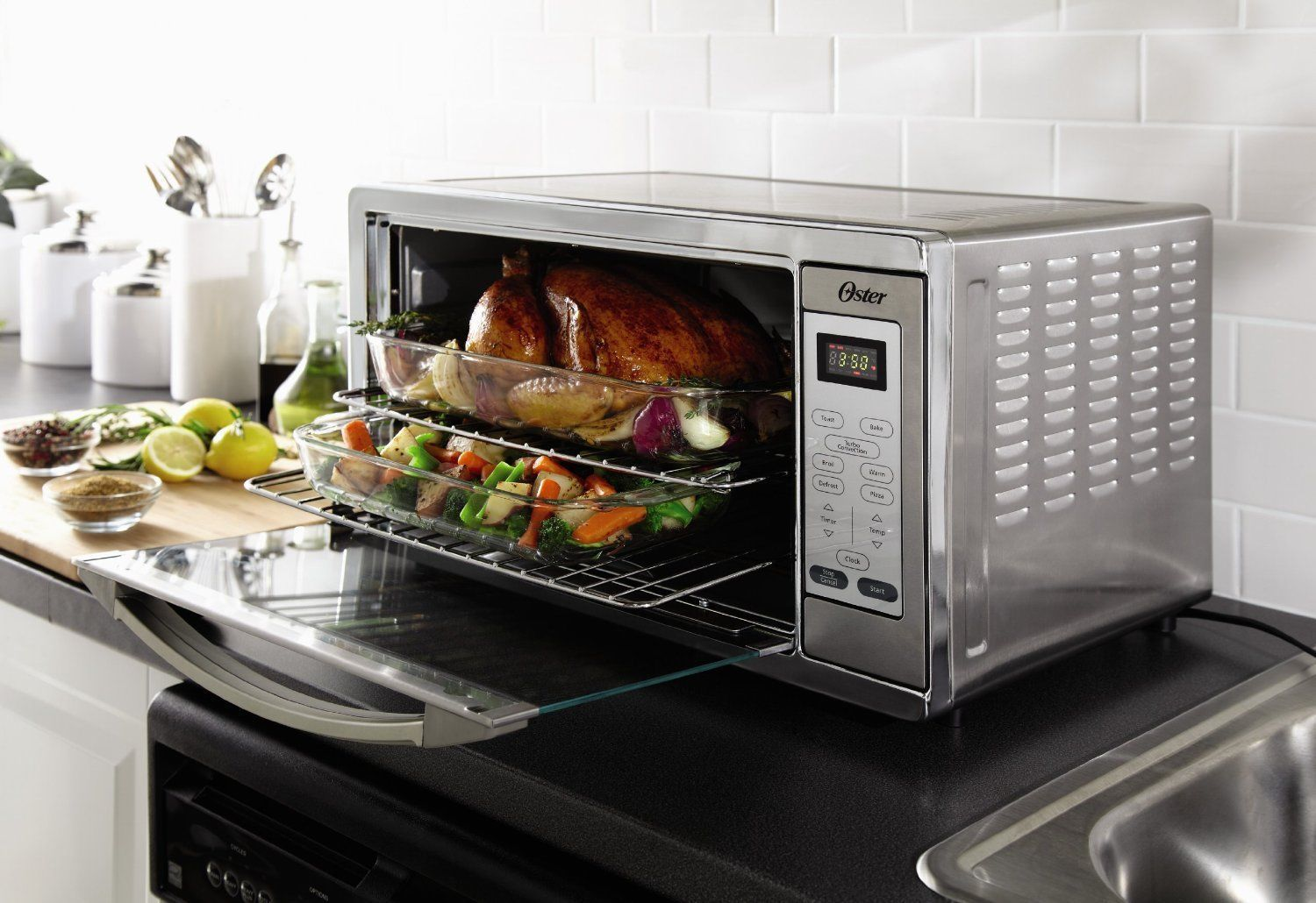 Countertop Microwave Convection Oven Combo Large Convection Countertop Stove Microwave Conventional
