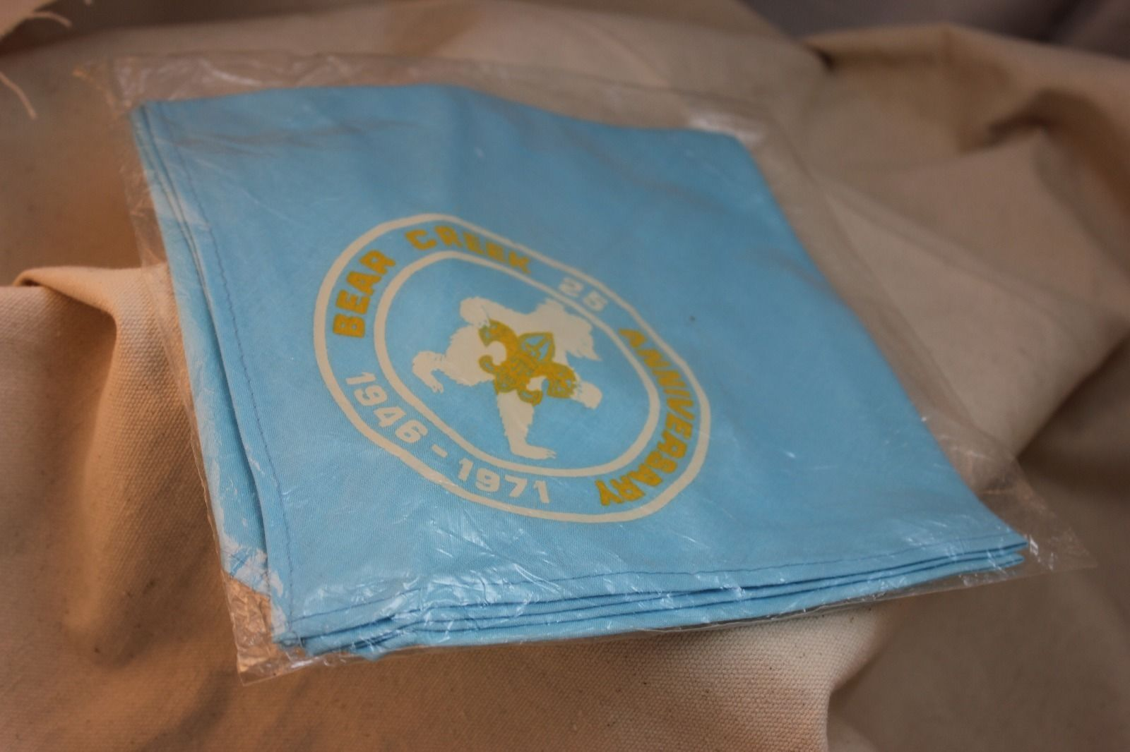 Bear Creek 25th Anniversary Neckerchief And 50 Similar Items
