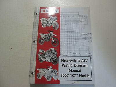 2007 Suzuki Motorcycle  ATV Wiring Diagram and similar items