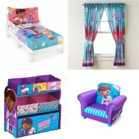 Disney Doc Mcstuffins Kids Toddler Bedroom Set Toddler Bed ...