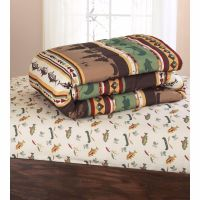 Fishing Cabin Lodge Lake 8 Piece Complete Bed In A Bag ...