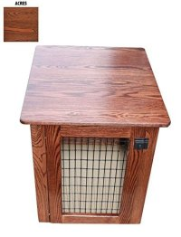 Wood End Table Dog Crate Wooden End Table Crate Orvis ...