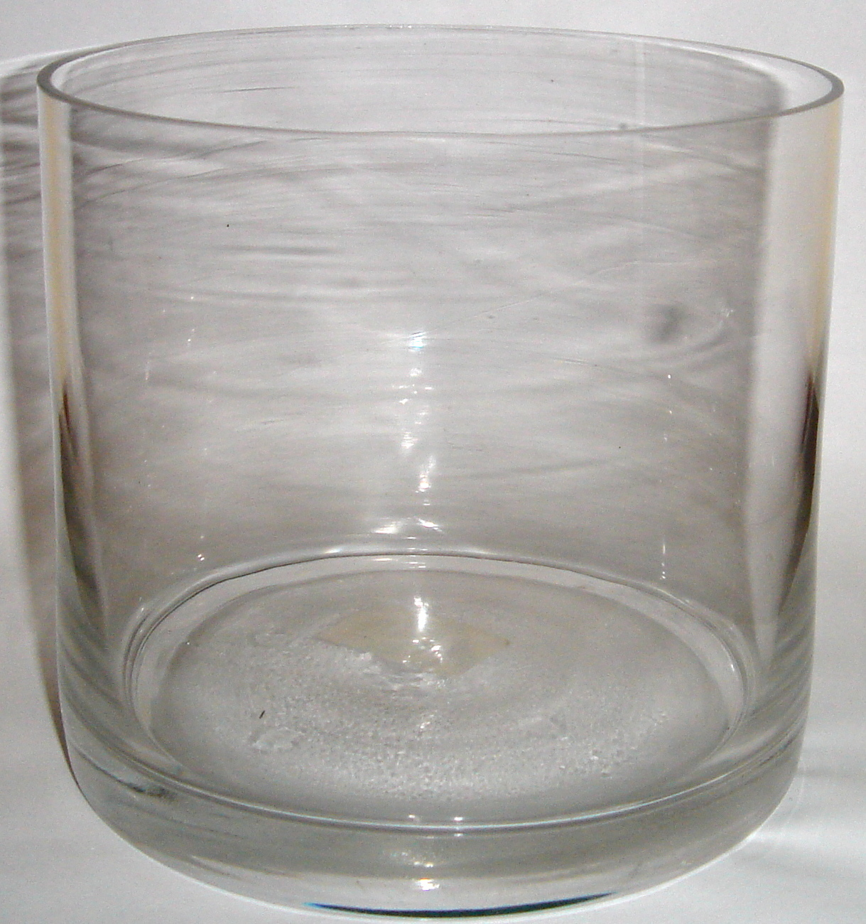 Clear Glass Round Flower Vase 4 5 High Vases - Vase Glas Rund
