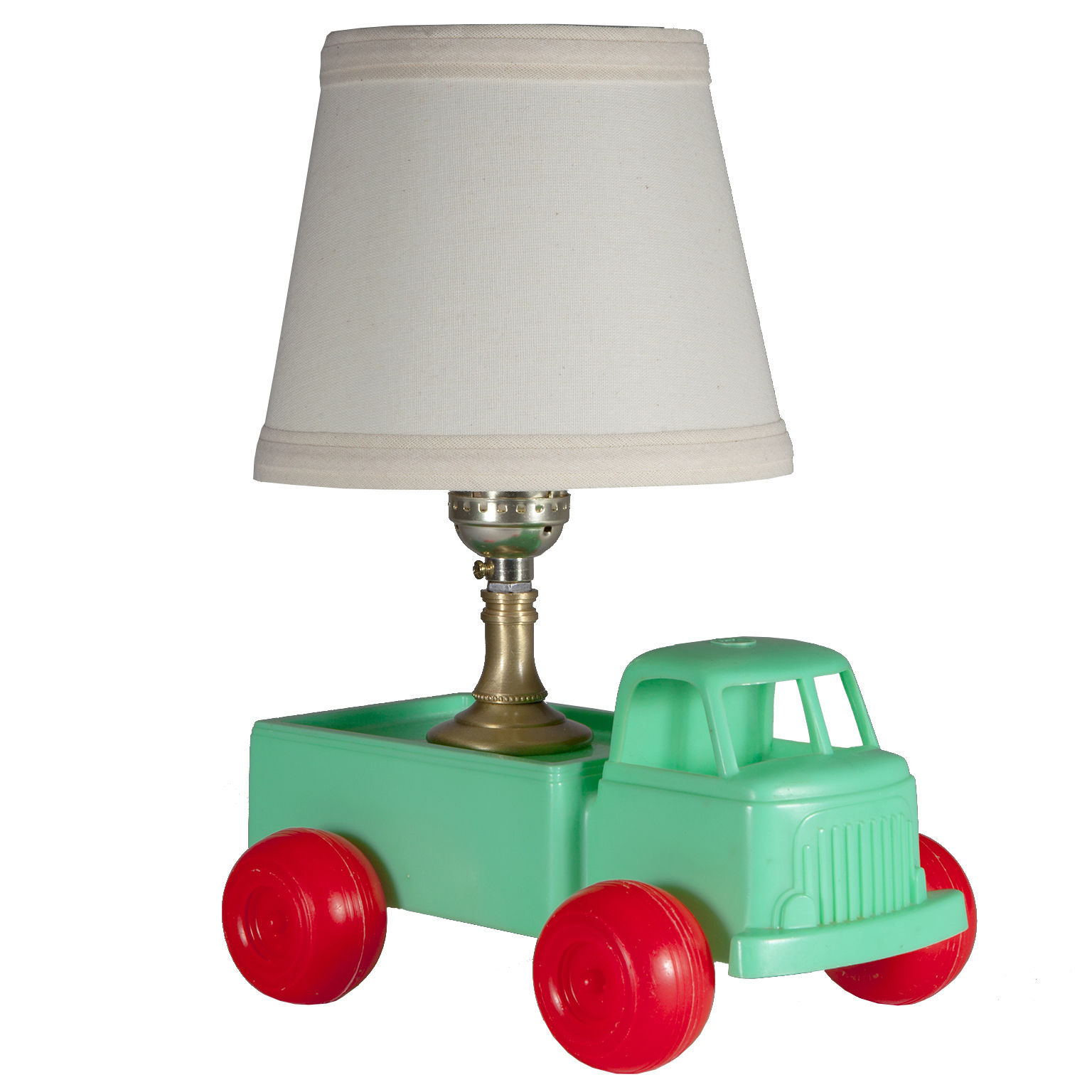Mini Vintage Kids Green Truck Up