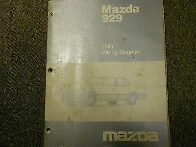 1990 Mazda 929 Electrical Wiring Diagram and 50 similar items