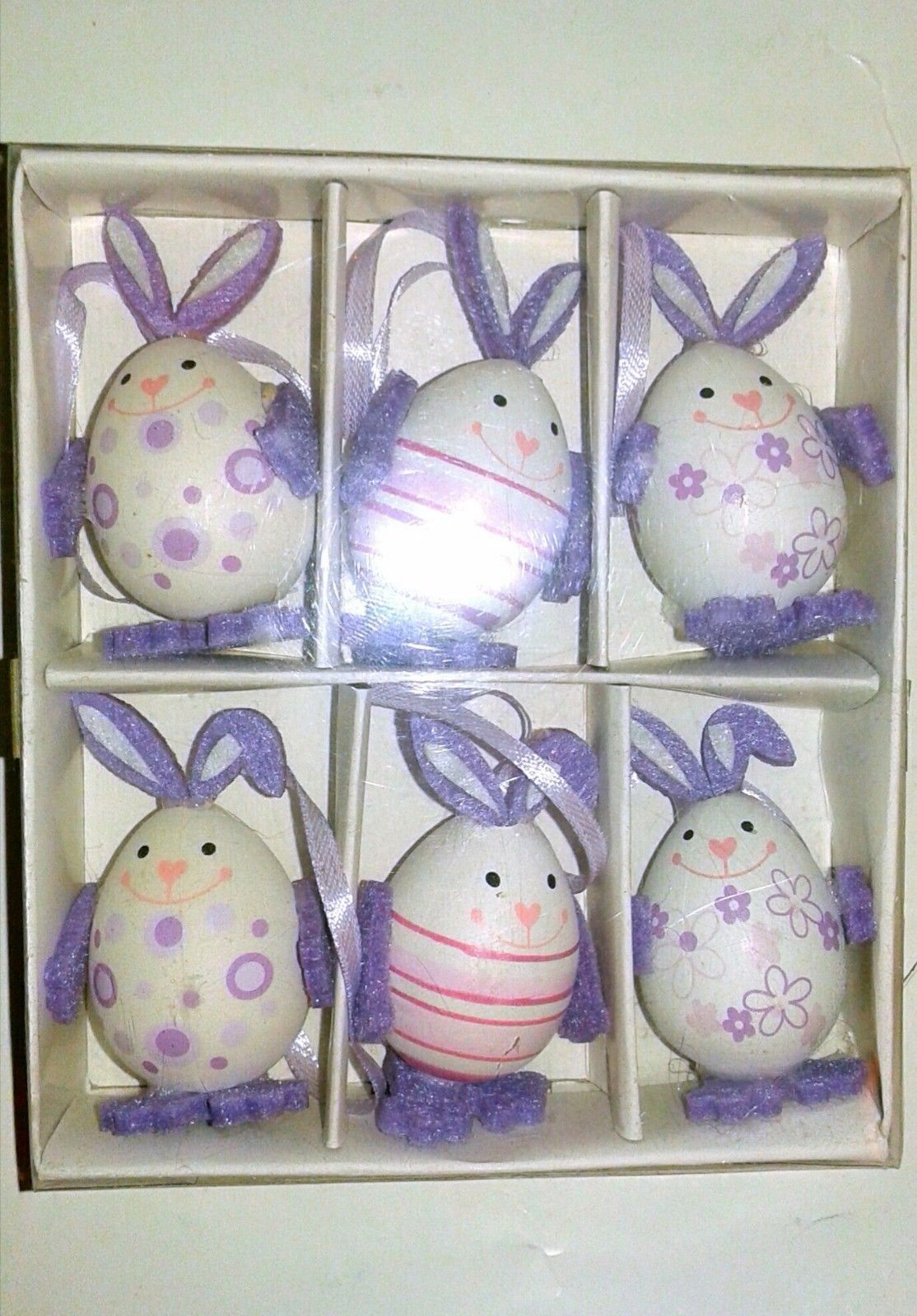 Living At Home Ostern 6 X Easter Bunny Egg Decorations Ostern Home And 26 Similar