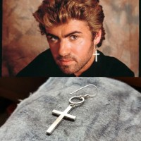 George Michael - Tribute Cross Earring - and 50 similar items