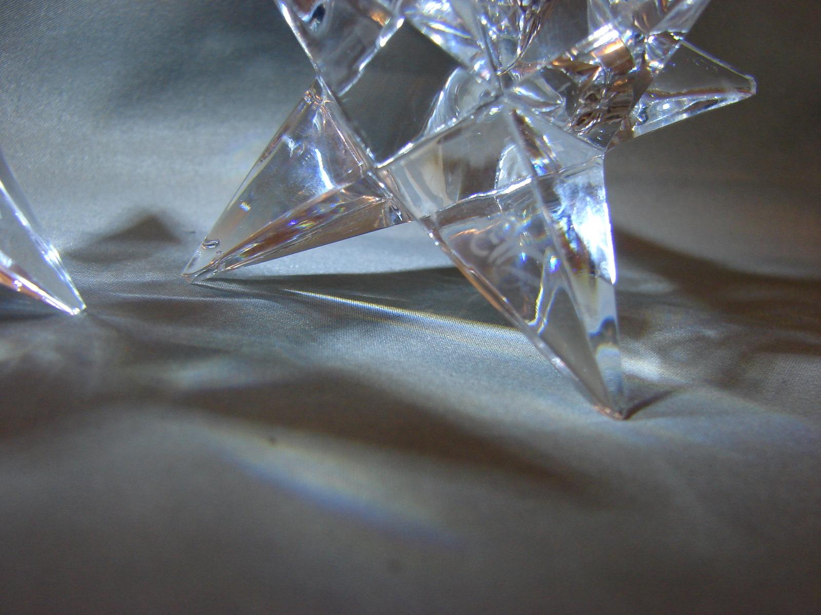 Rosenthal Crystal Star Candle Holder Bleikristall Image