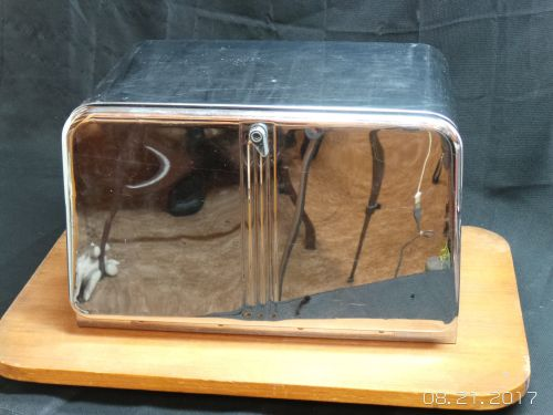 Medium Of Vintage Bread Box