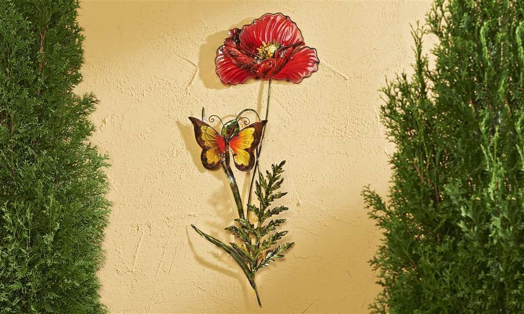 Red Butterfly Wall Art - Elitflat