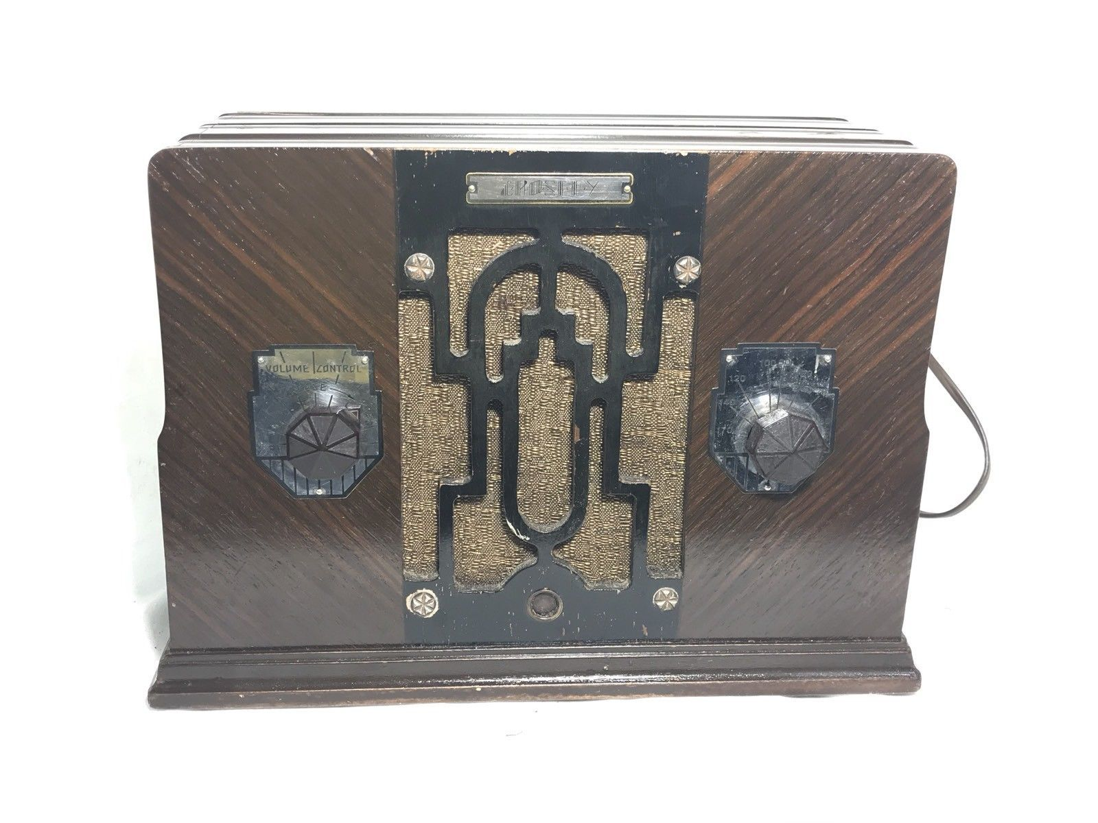 Crosley Radio Art Deco Crosley Radio Model 4 C 1 And 50 Similar Items