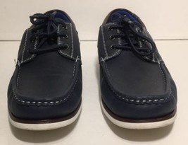 Up Lace Fezza Blue 9 Mens Shoes Boat Casual Loafers Size