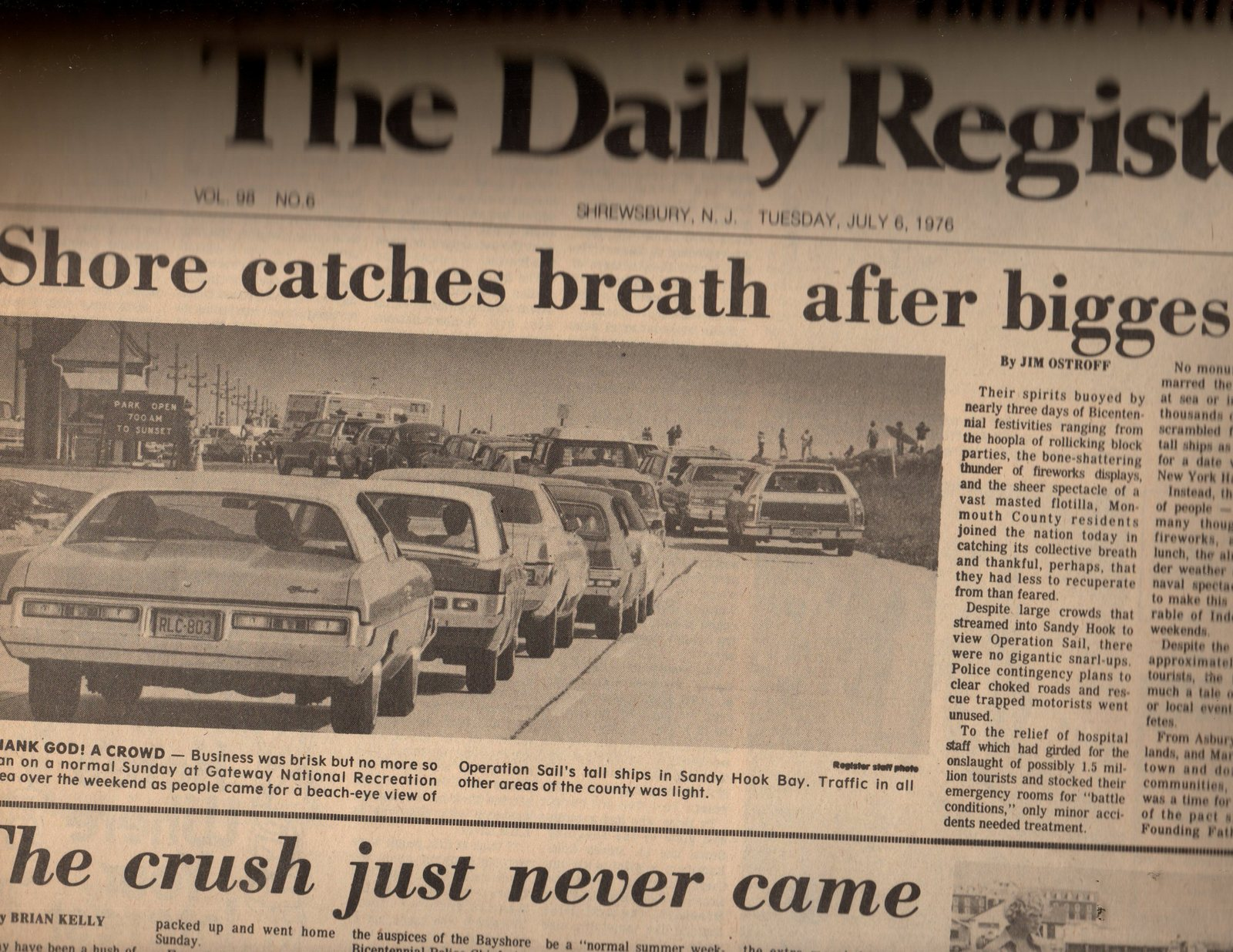 The Daily Register Newspaper July 6 1976 And 50 Similar Items