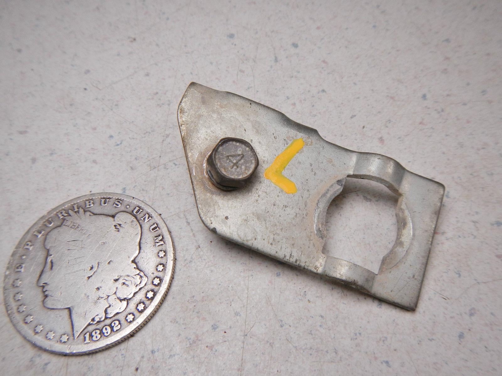 89 Suzuki Lt500r Quadracer Left Front Brake Hose Line Pipe