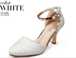 87h115 Pump Size Elegant Metallic White 4 5 8 Strappy