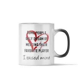 Distinctive Her Mom Women Friend Wife Daughter Sister Starbucks Baseball Coffee Mug Baseball Mom Coffee Mug Magic Coffee Mug I Raised Mine Gift