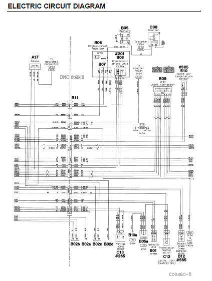 2007 mitsubishi fuso wiring diagram