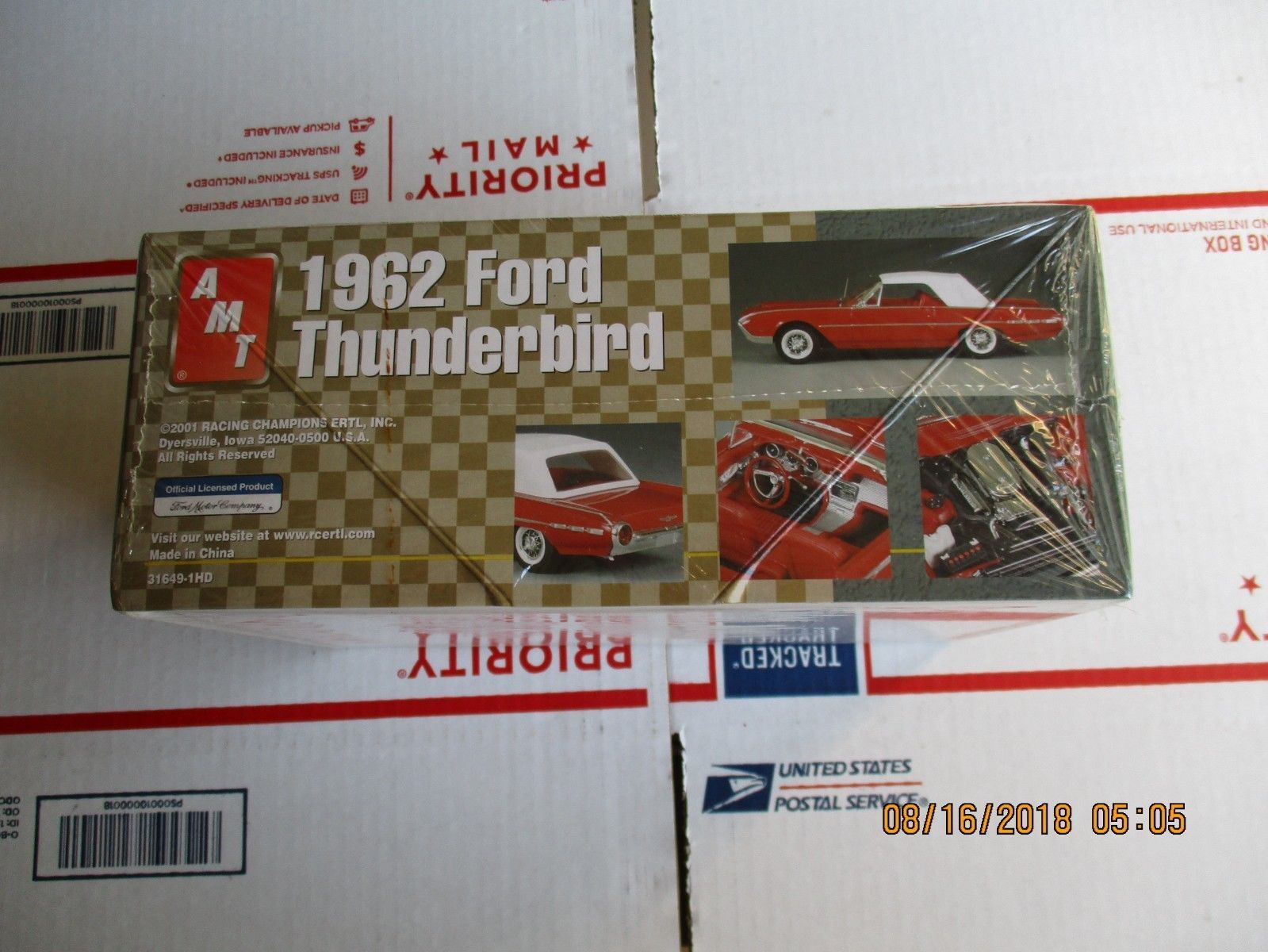 Odc Ascona Amt 1962 Ford Thunderbird Convertible 1 25 And 36 Similar Items