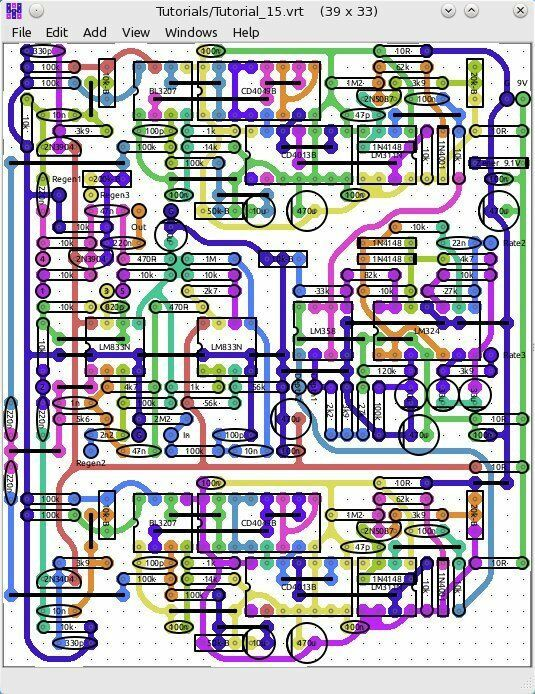 Veroroute Veroboard Stripboard Perfboard Pcb Layout Software For Windows Usb Image Video - Perfboard Layout Software