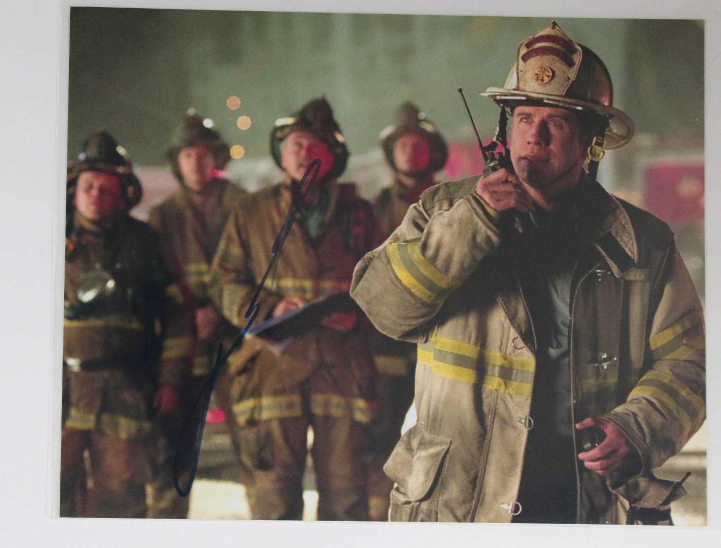 John Travolta Signed Autographed Quotladder 49quot Glossy 8x10