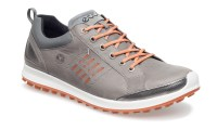 ECCO Men's Golf Biom Hybrid 2 (Warm Grey/orange ...