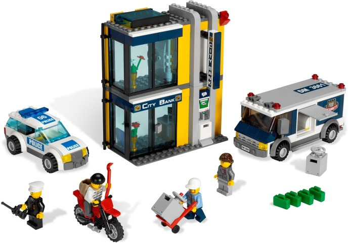 3661 1 Bank Money Transfer Brickset Lego Set Guide