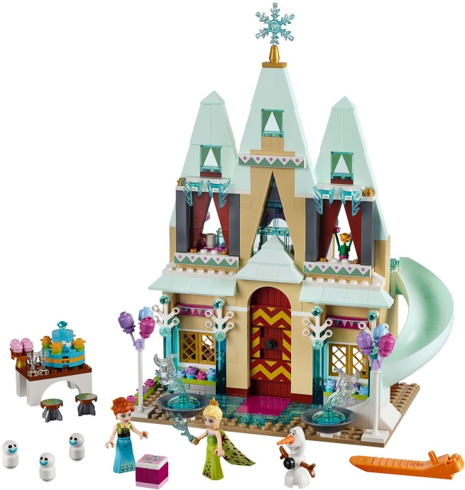 Frozen Arendelle Disney Castle LEGO Set Celebration