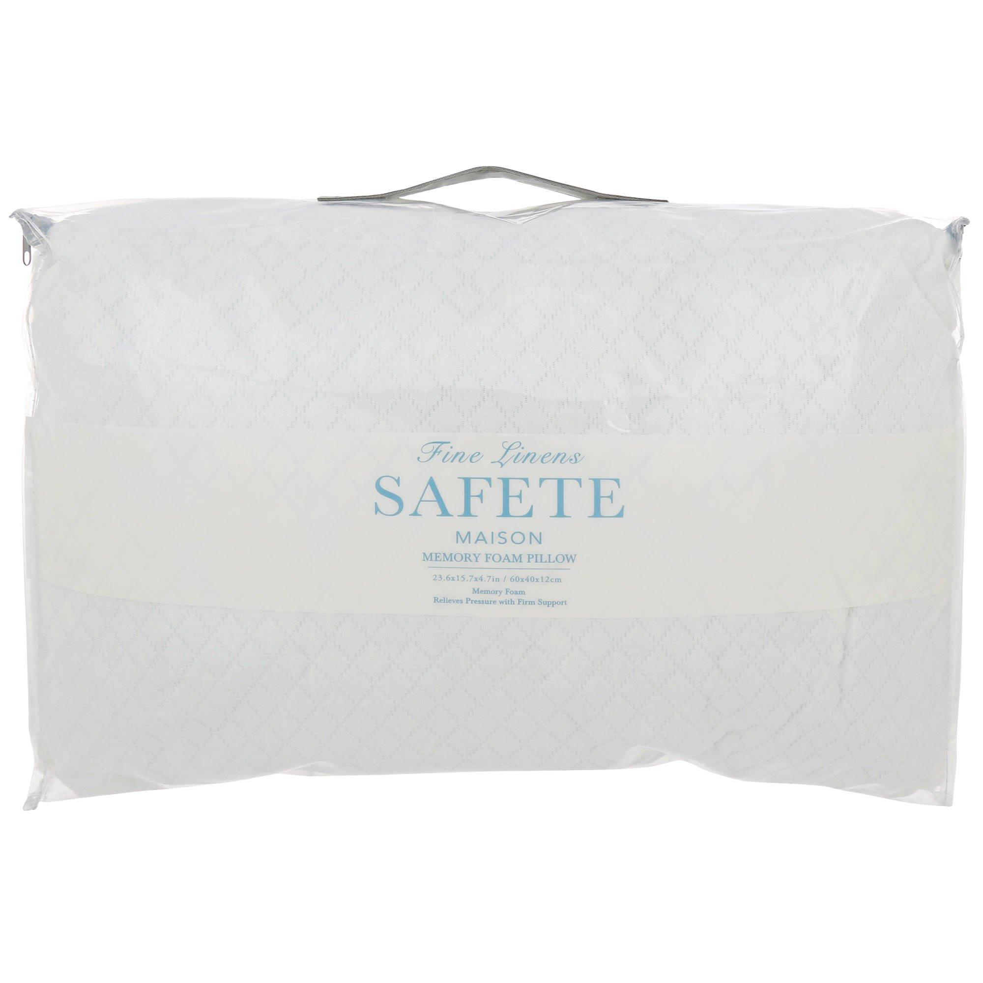 Firm Memory Foam Pillow Quilted Memory Foam Pillow