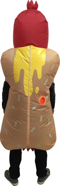 Hotdog Inflatable Adult Costume | BuyCostumes.com
