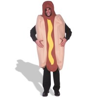 Hot Dog Deluxe Adult Costume | BuyCostumes.com