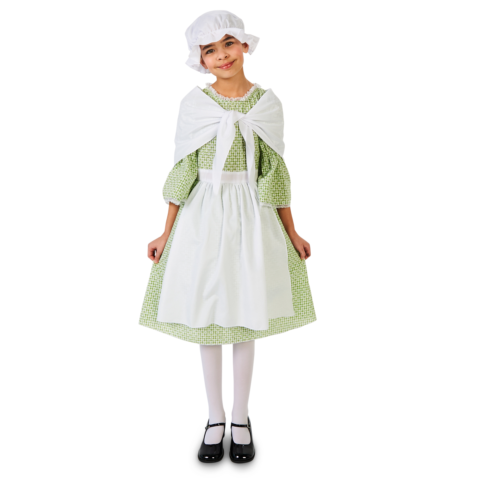 Spring Meadow Printed Colonial Girls Costume Buycostumescom
