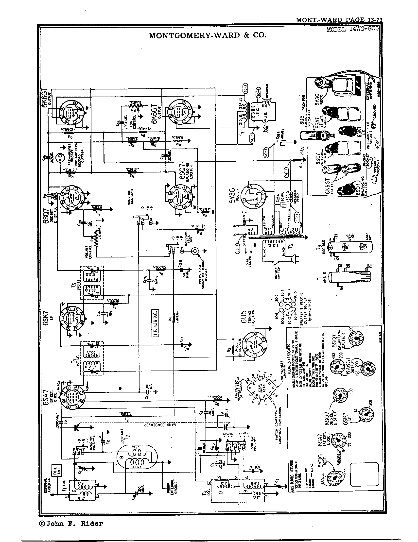 airline amp schematics