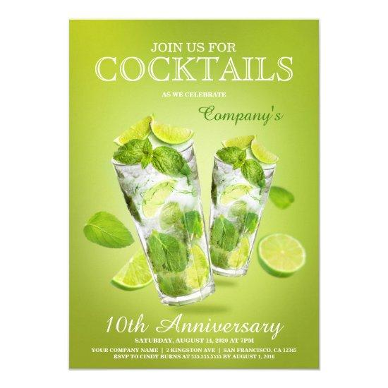 Corporate Cocktail Party Template \u2013 Candied Clouds