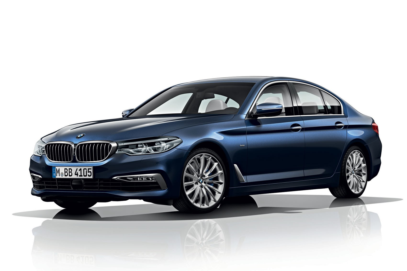 Bmw 5 Serie New 2017 Bmw 5 Series Revealed Lighter Quicker More