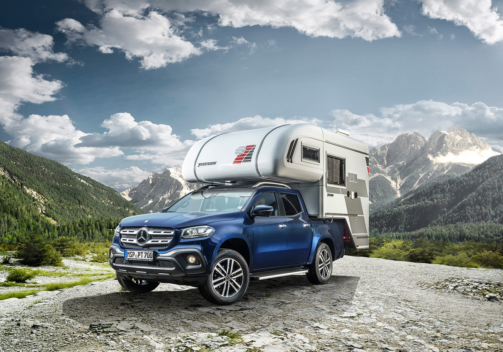 Mb X? S? Mercedes Benz X Class Pick Up Camper Van Pictures Specs